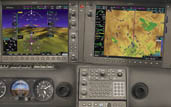 avidyne r9 retrofits, garmin perspective for cirrus glass panel conversions in sacramento area