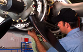 pilatus, turbo prop maintenance, king air, caravan service facility in northern california