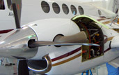 authorized hawker beechcraft service center king air in northern california